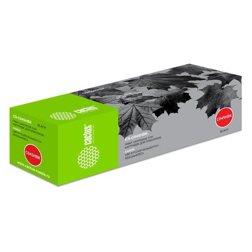 картридж cactus cs c045hbk black для canon lbp 611cn 613cdw 631cn 633cdw 635cx Картридж CACTUS CS-C045HBK, черный