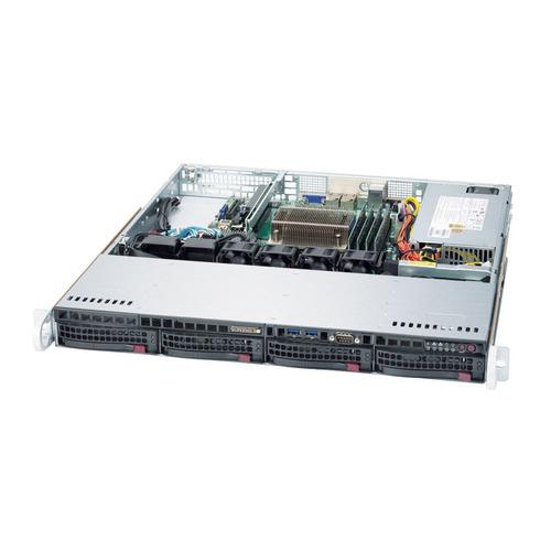 Фото - Платформа SuperMicro SYS-5019S-M2 RAID 1x350W сервер supermicro sys 5019s m2