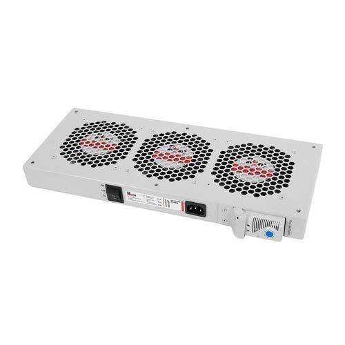 Модуль вентиляторный ЦМО (R-FAN-3T) 3 вент. с термостатом серый (упак.:1шт) комплект уголков цмо уо 58 62 упак 2шт