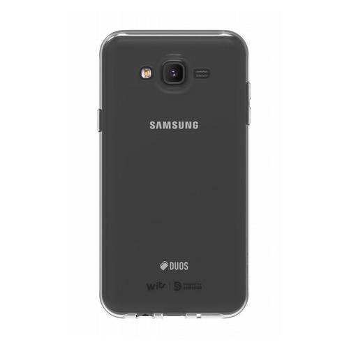 Чехол (клип-кейс) SAMSUNG WITS SOFT, для Samsung Galaxy J7 neo, прозрачный [gp-j700wscpaaa] все цены