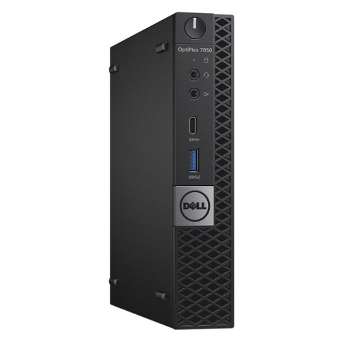 Компьютер DELL Optiplex 7050, Intel Core i7 7700T, DDR4 8Гб, 500Гб,  HD Graphics 630, Windows 10 Professional, черный [-8350]