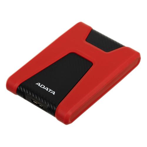 Фото - Внешний жесткий диск A-DATA DashDrive Durable HD650, 2ТБ, красный [ahd650-2tu31-crd] внешний hdd a data dashdrive durable hd650 1tb blue ahd650 1tu31 cbl