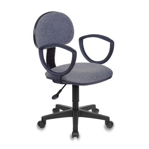 Кресло БЮРОКРАТ CH-213AXN, на колесиках, ткань, темно-серый [ch-213axn/grey]