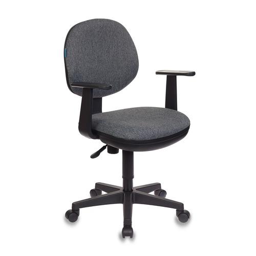 цены Кресло БЮРОКРАТ CH-356AXSN, на колесиках, ткань, темно-серый [ch-356axsn/g]