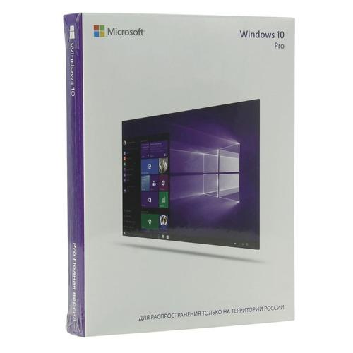 Операционная система MICROSOFT Windows 10 Pro, 32/64 bit, Rus, Only USB RS, USB [fqc-10150] цена