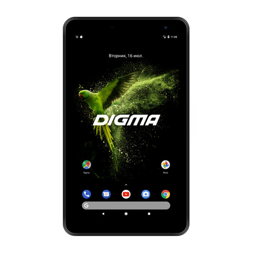 цена на Планшет DIGMA Optima 7018N 4G, 2GB, 16GB, 3G, 4G, Android 7.0 черный [ts7179ml]