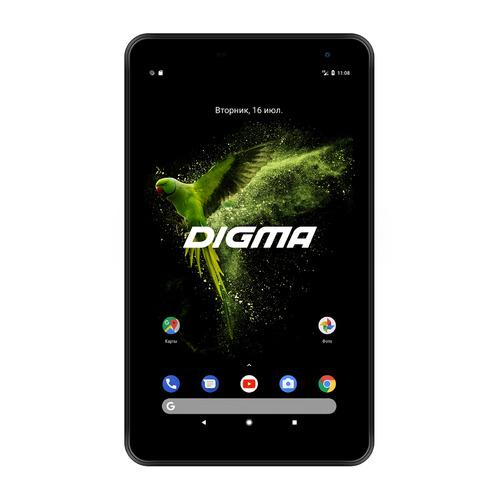 Планшет DIGMA Optima 7018N 4G, 2GB, 16GB, 3G, 4G, Android 7.0 черный [ts7179ml] планшет digma optima 7018n 16gb lte black