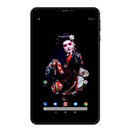 Планшет DIGMA Plane 8566N 3G, 1GB, 16GB, 3G, Android 7.0 черный [ps8181mg] планшет prestigio wize 8 3g 1gb 8gb 3g android 8 1 черный