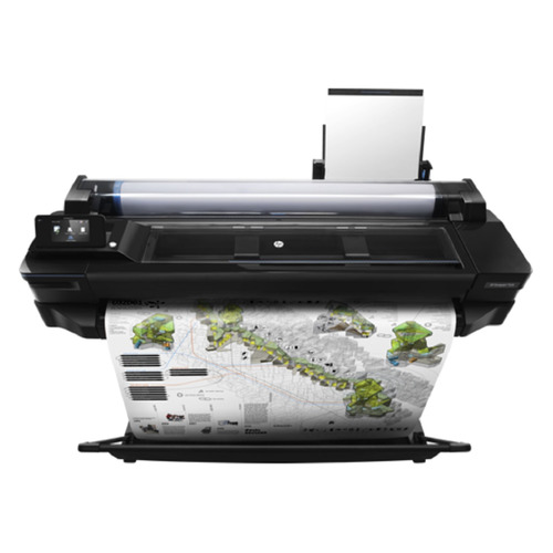 Плоттер HP Designjet T520 e-printer 2018ed, 36 [cq893c] high quality usb seril parallel ethernet 76mm stylus printer dot matrix recepit printer stylus recepit printer pos printer