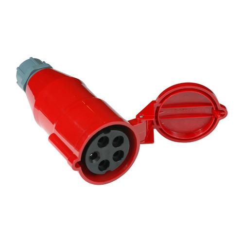 лучшая цена Вилка Lanmaster (LAN-IEC-309-32A3P/F)