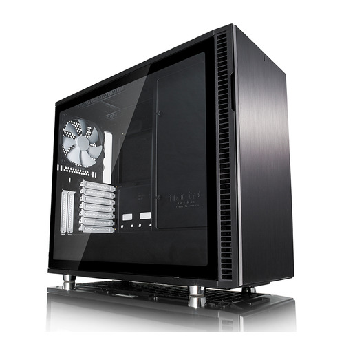 Корпус ATX FRACTAL DESIGN Define R6 TG, Midi-Tower, без БП, черный