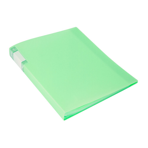 Фото - Папка с 60 прозр.вклад. Бюрократ Gems GEM60GRN A4 пластик 0.7мм торц.карм с бум. встав зеленый турма 10 шт./кор. папка 60ф a4 gems голубой пластик 0 7мм