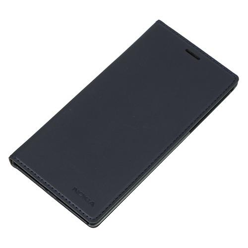 цена на Чехол (флип-кейс) NOKIA Slim Flip, для Nokia 3, синий [1a21m1p00va]