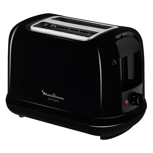 Тостер MOULINEX LT160830, черный [7211002891] тостер moulinex tt110232