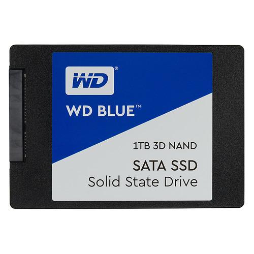 SSD накопитель WD Blue WDS100T2B0A 1Тб, 2.5