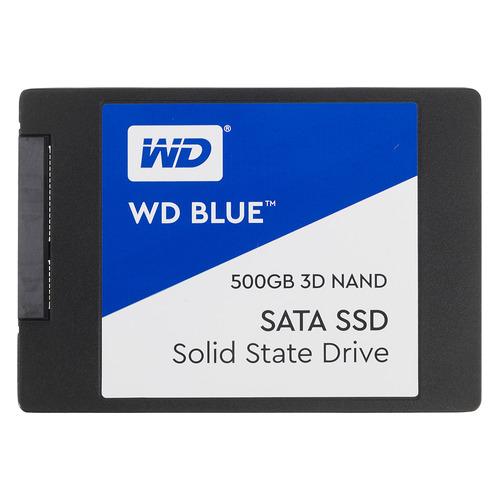 SSD накопитель WD Blue WDS500G2B0A 500Гб, 2.5