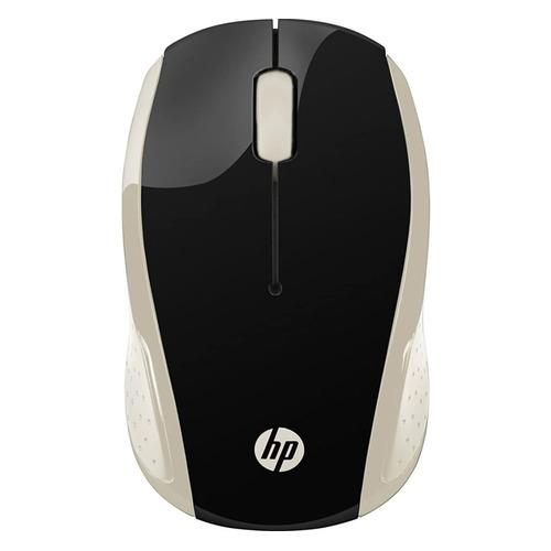 Мышь HP 200 Silk, оптическая, беспроводная, USB, золотистый [2hu83aa] мышь беспроводная hp 200 silk золотистый чёрный usb 2hu83aa