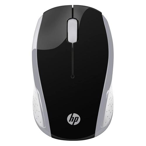 Мышь HP 200 Pk, оптическая, беспроводная, USB, серебристый [2hu84aa] мышь беспроводная hp 200 silk золотистый чёрный usb 2hu83aa