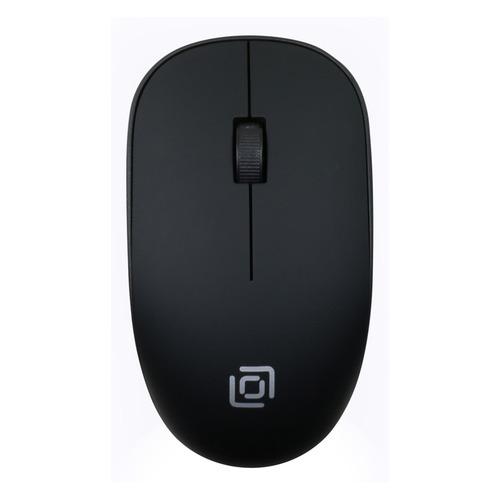 Мышь OKLICK 515MW, оптическая, беспроводная, USB, черный мыши oklick мышь oklick 475mw черный серый оптическая 1200dpi беспроводная usb 3but