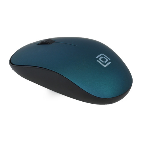 Мышь OKLICK 515MW, оптическая, беспроводная, USB, черный и зеленый мыши oklick мышь oklick 475mw черный серый оптическая 1200dpi беспроводная usb 3but