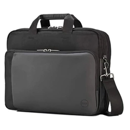 Портфель 15.6 DELL Professional Briefcase, черный/серый [460-bbob] цена