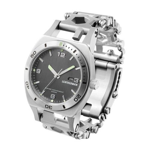Браслет мультитул Leatherman Tread Tempo (832421) серебристый Tread Tempo по цене 40 800