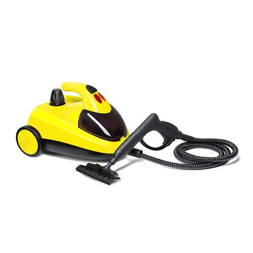 Пароочиститель KITFORT КТ-908-2, желтый/черный