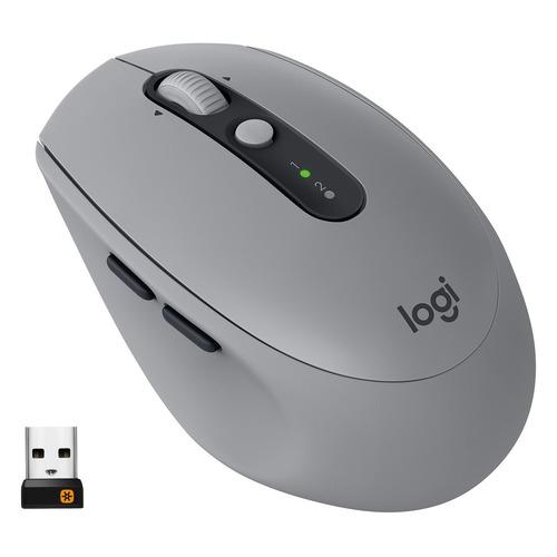 лучшая цена Мышь LOGITECH M590, оптическая, беспроводная, серый [910-005198]
