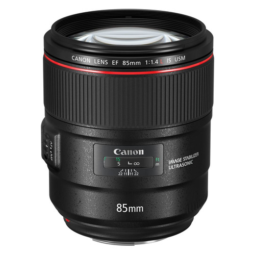 Объектив CANON 85mm f/1.4L EF IS USM, Canon EF [2271c005] объектив canon ef 85mm f 1 8 usm 2519a012