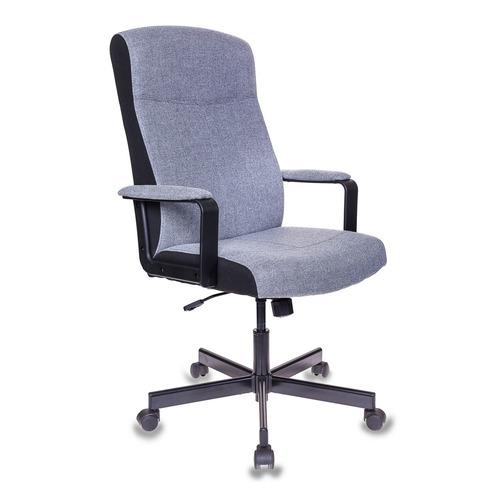 Кресло руководителя БЮРОКРАТ DOMINUS, на колесиках, ткань, серый [dominus-fg] цены онлайн