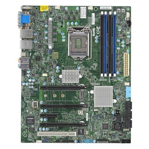 Серверная материнская плата SUPERMICRO MBD-X11SAT-F-O, Ret