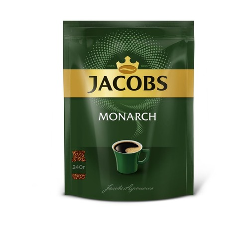 Кофе растворимый JACOBS MONARCH Monarch, 240грамм [4251927] cs h9730 9733 color toner laser cartridge for canon ep86 ep 86 ep 86 icc 3500 2710 2810 5700 5800 13k 12k pages free fedex