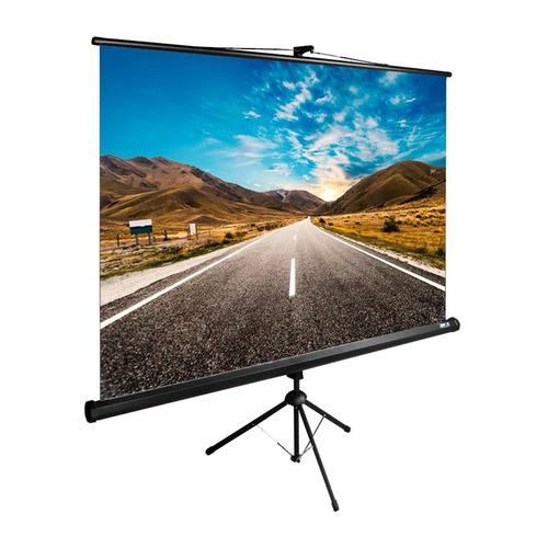 Фото - Экран Cactus TriExpert CS-PSTE-160x160-BK, 160х160 см, 1:1, напольный черный экран cactus triexpert 180x135cm 4 3 cs pste 180x135 bk