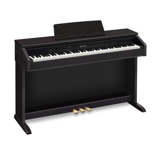 Цифровое фортепиано CASIO CELVIANO, AP-270BK, 88, полновзвешенная, полноразмерные, 192 черный цена и фото