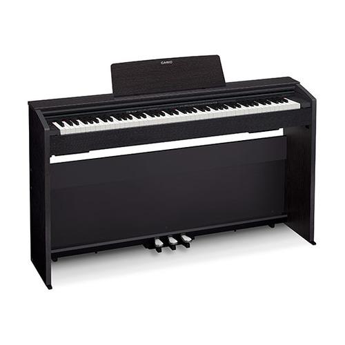 Цифровое фортепиано CASIO PRIVIA, PX-870BK, 88, полновзвешенная, полноразмерные, 256 черный