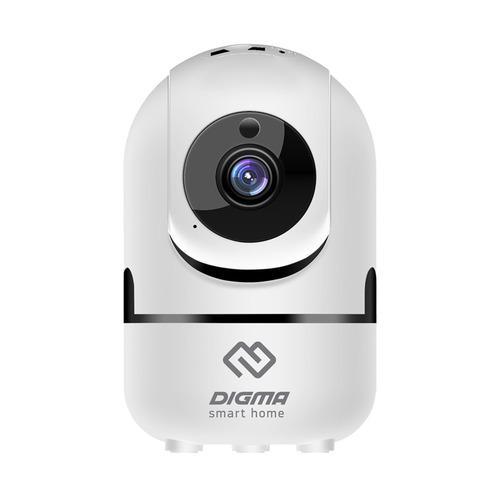 Видеокамера IP Digma DiVision 201, 720p, 2.8 мм, белый поворотная ip камера digma division 201 белый