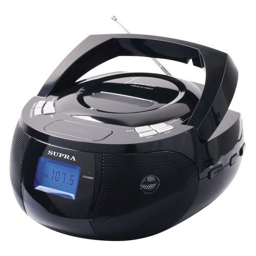 цена на Аудиомагнитола SUPRA BB-33MUS, черный