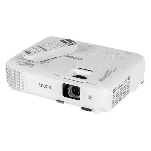 Фото - Проектор EPSON EB-X05 белый [v11h839040] кеды мужские vans ua sk8 mid цвет белый va3wm3vp3 размер 9 5 43