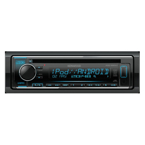 Автомагнитола KENWOOD KDC-220UI, USB автомагнитола cd kenwood kdc 220ui 1din 4x50вт