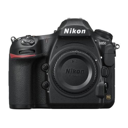 Зеркальный фотоаппарат NIKON D850 BODY body, черный