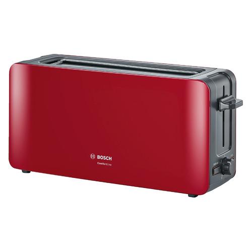 лучшая цена Тостер BOSCH TAT6A004, красный