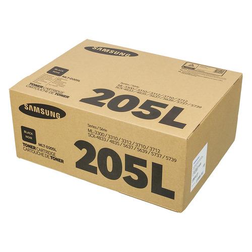 Картридж SAMSUNG MLT-D205L, черный [su965a] картридж samsung mlt d205s для ml 3310 ml 3710 scx 5637 scx 4833 2000стр