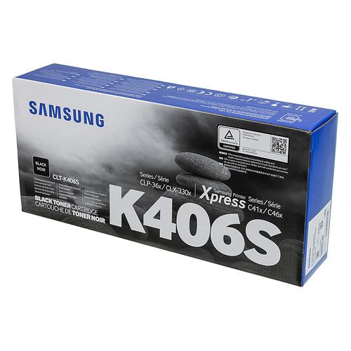 Картридж Samsung CLT-K406S, черный / SU120A