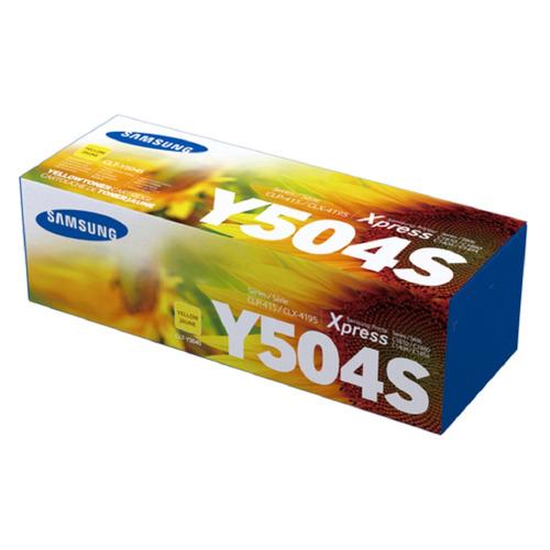 Картридж SAMSUNG CLT-Y504S, желтый [su504a] цена 2017