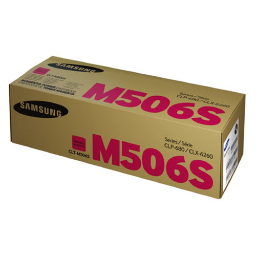 цена на Картридж SAMSUNG CLT-M506S, пурпурный [su316a]