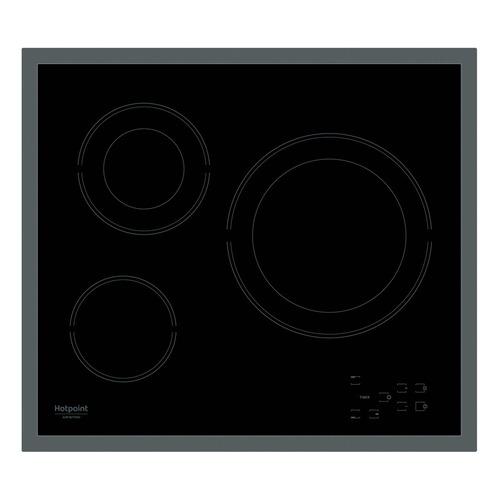 лучшая цена Варочная панель HOTPOINT-ARISTON HR 603 X, Hi-Light, независимая, черный