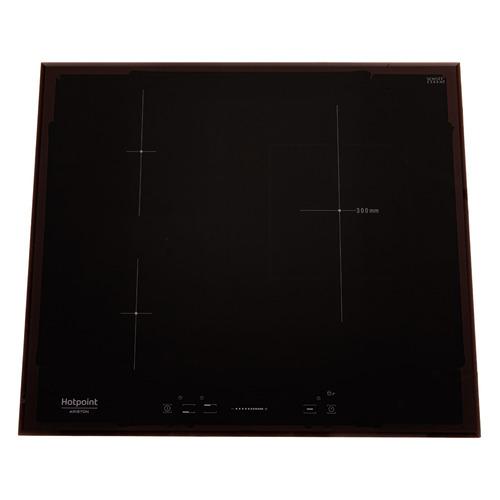 Варочная панель HOTPOINT-ARISTON KIS 630XLD B, индукционная, независимая, черный варочная панель электрическая ariston kis 841 f b черный