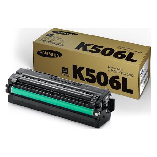 Картридж SAMSUNG CLT-K506L, черный [su173a] цена