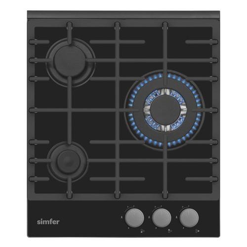 Варочная панель SIMFER H45L35B511, независимая, черный цена и фото
