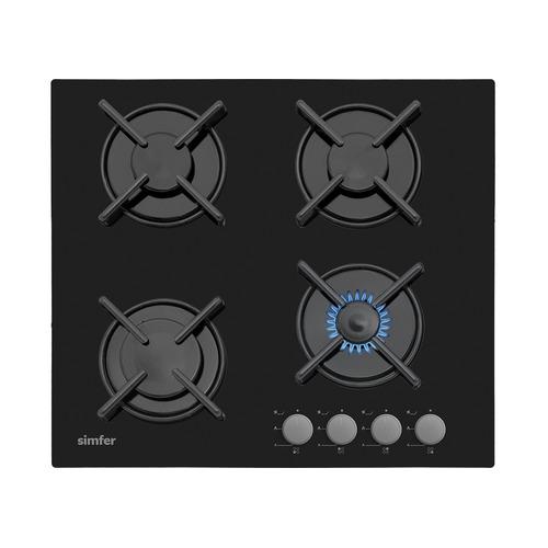 Варочная панель SIMFER H60N40B412, независимая, черный варочная панель simfer h60n40b412